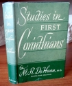 Studies in First Corinthians (Messages on Practical Christian Living)
