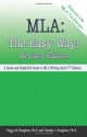 MLA: The Easy Way! [Updated for MLA 7th Edition]