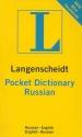 Langenscheidt's Pocket Russian Dictionary: Russian - English / English - Russian (Russian Edition)