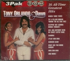 Tony Orlando & Dawn 36 All-Time Greatest Hits [3 CD Set]