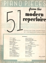 Fifty-One Piano Pieces from the Modern Repertoire