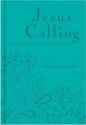 Jesus Calling (Deluxe)-Teal LeatherSoft