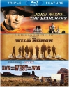 Searchers / Wild Bunch / How the West Was Won  [Blu-ray]