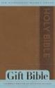 NIrV, Gift Bible, Imitation Leather, Brown
