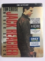 JACK REACHER: NEVER GO BACK 4K UHD Blu-ray Disc Steelbook - Best Buy Exclusive
