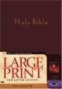 Holy Bible: New Living Translation, Burgundy