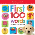 Lift the Flap: First 100 Words / Primeras 100 Palabras (Scholastic Early Learners) (English and English Edition)