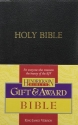 The Holy Bible: King James Version, Black, Imitation Leather, Gift & Award
