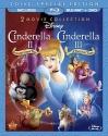 Cinderella II: Dreams Come True / Cinderella III: A Twist In Time [Blu-ray]