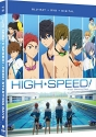 Free! High Speed!: Free! Starting Days - The Movie [Blu-ray]