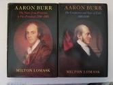 Aaron Burr. 2 Volume Set.