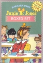Junie B. Jones Boxed Set - 4 books: Junie B. Jones and a Little Monkey Business; and the Yucky Blucky Fruitcake; and the Stupid Smelly Bus, and Her Big Fat Mouth