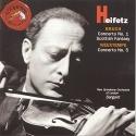 Heifetz: Bruch, Concerto No. 1, Scottish Fantasy; Vieuxtemps, Concerto No. 5