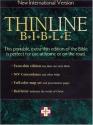NIV Thinline Bible Indexed