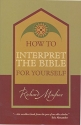 How to Interpret the Bible (Focus on the Bible)