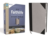 NIV, Faithlife Illustrated Study Bible, Leathersoft, Gray/Black: Biblical Insights You Can See