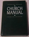 Seventh - Day Adventist Church Manual