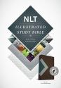Illustrated Study Bible NLT, TuTone (LeatherLike, Teal/Chocolate, Indexed)