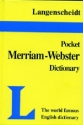Langenscheidt Pocket Merriam-Webster English Dictionary (Langenscheidt's Pocket Dictionary)