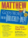 Matthew: God's Word for the Biblically-Inept