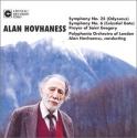 Alan Hovhaness: Symphony No. 25 (Odysseus) / Symphony No. 6 (Celestial Gate) / Prayer of St. Gregory