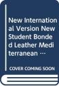 New International Version New Student Bonded Leather Mediterranean Blue