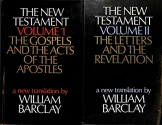 The New Testament Two-Volume Set - Volume 1: The Gospels and the Acts of the Apostles & Volume 2: The Letters and the Revelation [Translated by William Barclay