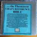 Thompson Chain Reference Bible Workbook Edition Fourth Improved Edition (KJV)