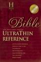 NKJV UltraThin Reference Bible (Burgundy Genuine Leather)