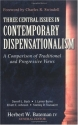 Three Central Issues in Contemporary Dispensationalism: A Comparison of Traditional & Progressive Views