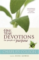 The One Year Devotions for People of Purpose (One Year Book)