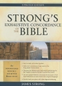 Strong's Exhaustive Concordance to the Bible (Facets)