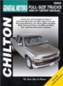 General Motors Full-size Trucks 1999-2001: Chevrolet Silverado & GMC Sierra Pick-ups, 1999-2001 Chevrolet Suburban & Tahoe, 2000 and 2001 GMC Yukon & ... (Chilton's Total Car Care Repair Manuals)